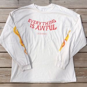 The Decemberists 'Everything Is Awful' Long Sleeve